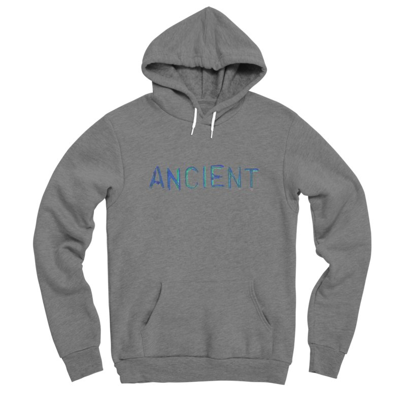 Ancient Champion Ancient Logo Blue Men's Pullover Hoody by Dress like an Ancient Champion