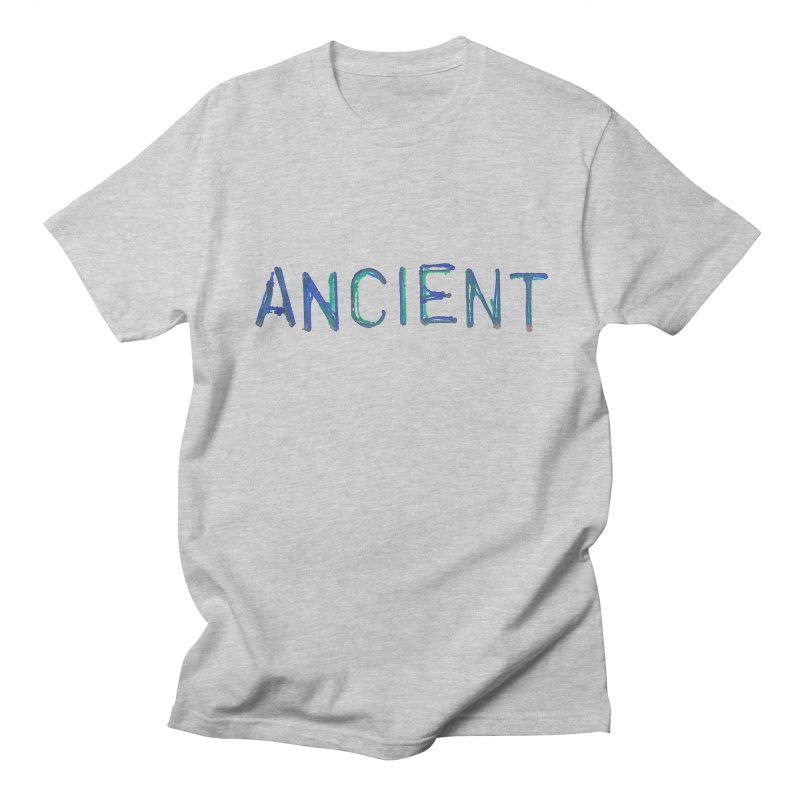 Ancient Champion Ancient Logo Blue in Men's Regular T-Shirt Heather Grey by Dress like an Ancient Champion
