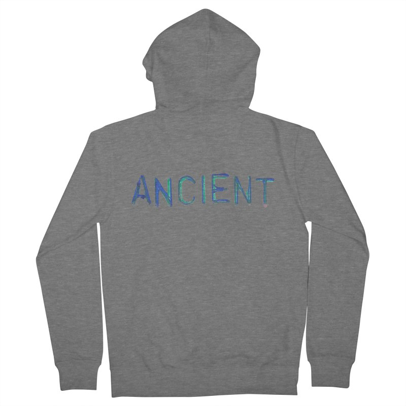 Ancient Champion Ancient Logo Blue Men's Zip-Up Hoody by Dress like an Ancient Champion