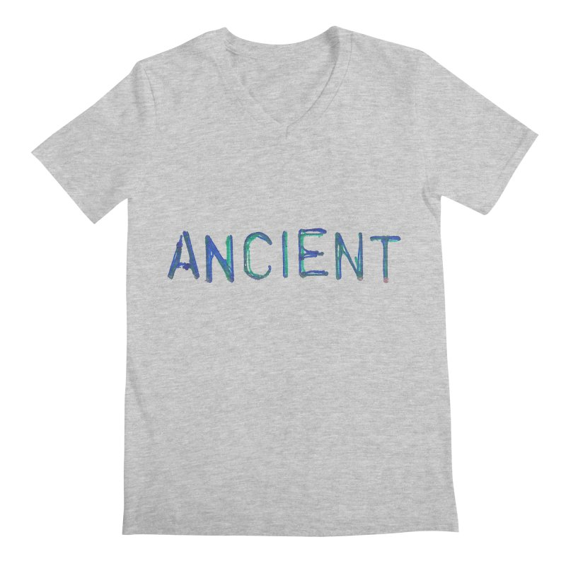 Ancient Champion Ancient Logo Blue Men's V-Neck by Dress like an Ancient Champion