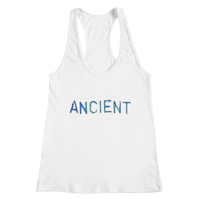 Ancient Champion Ancient Logo Blue Women's Tank by Dress like an Ancient Champion