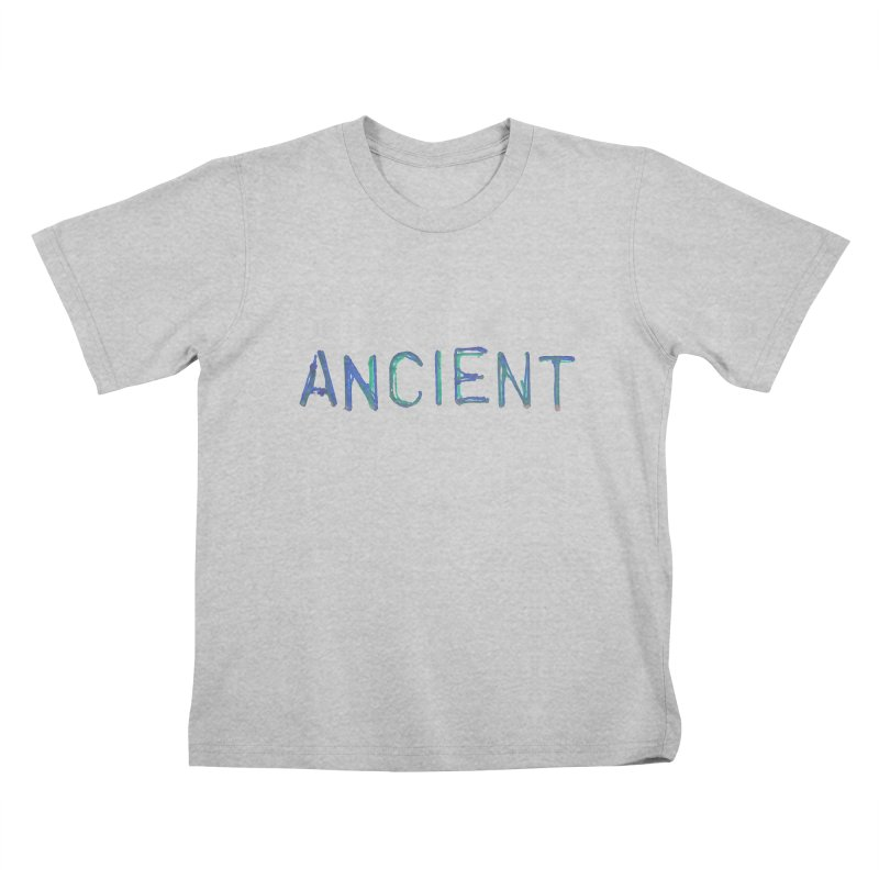 Ancient Champion Ancient Logo Blue Kids T-Shirt by Dress like an Ancient Champion