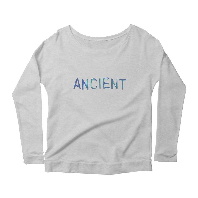 Ancient Champion Ancient Logo Blue Women's Longsleeve T-Shirt by Dress like an Ancient Champion