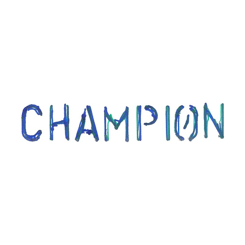 Ancient Champion Champion Logo Blue Kids Baby Longsleeve Bodysuit by Dress like an Ancient Champion