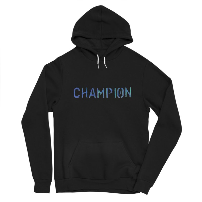 Ancient Champion Champion Logo Blue Men's Pullover Hoody by Dress like an Ancient Champion