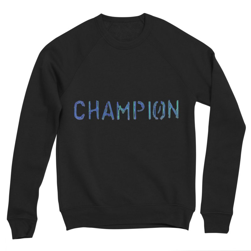 Ancient Champion Champion Logo Blue Men's Sweatshirt by Dress like an Ancient Champion