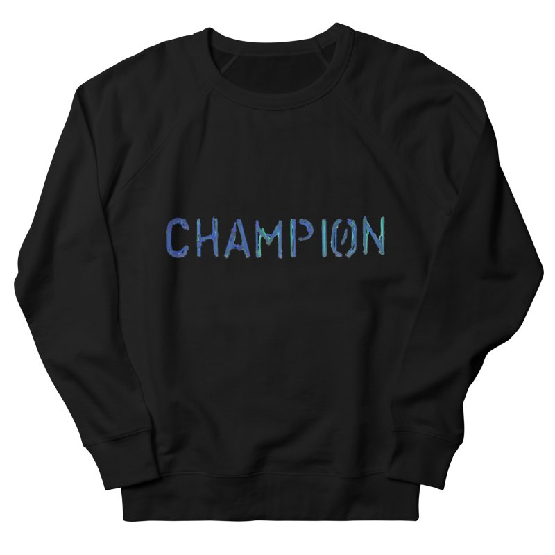 Ancient Champion Champion Logo Blue Men's Sweatshirt by Dress like an Ancient Champion
