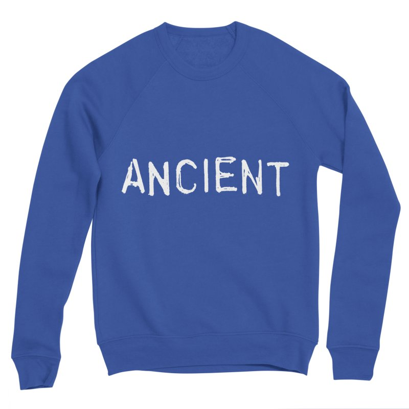 Ancient Champion Ancient Logo white Women's Sweatshirt by Dress like an Ancient Champion