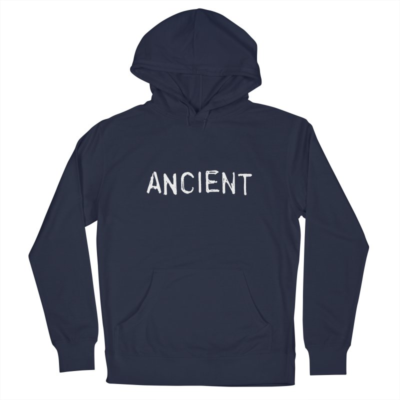 Ancient Champion Ancient Logo white Men's Pullover Hoody by Dress like an Ancient Champion