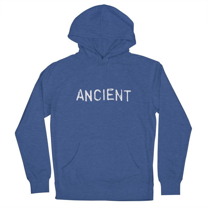 Ancient Champion Ancient Logo white Women's Pullover Hoody by Dress like an Ancient Champion