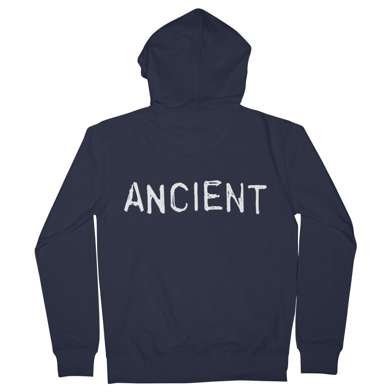Ancient Champion Ancient Logo white Men's Zip-Up Hoody by Dress like an Ancient Champion