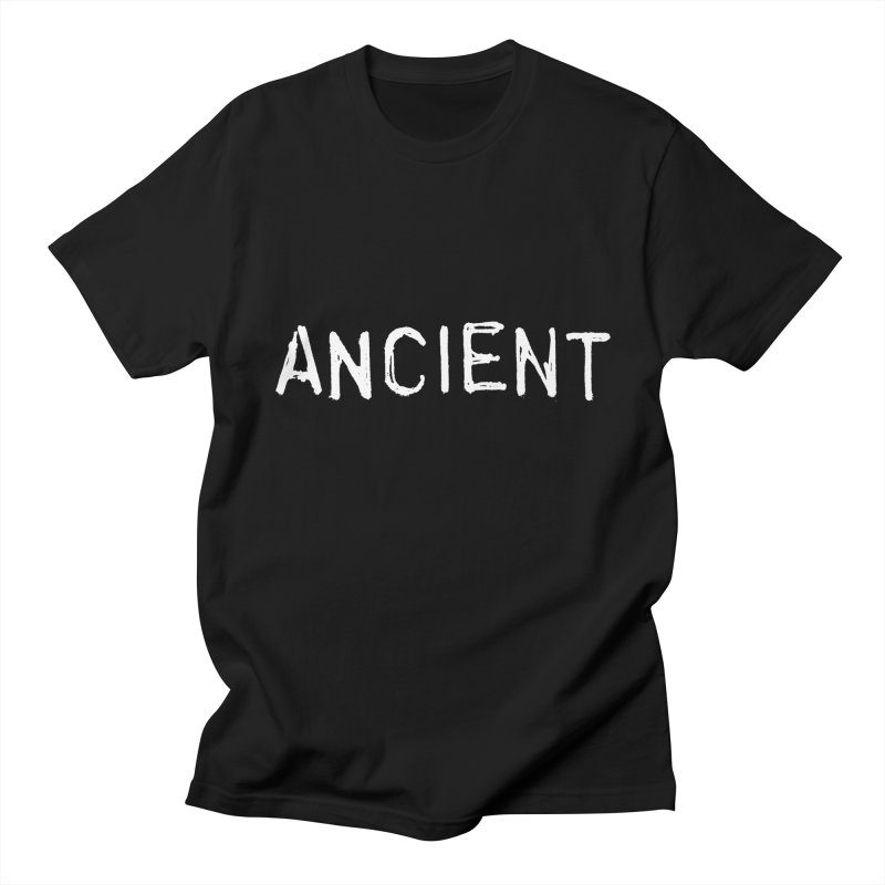 Ancient Champion Ancient Logo white Men's T-Shirt by Dress like an Ancient Champion