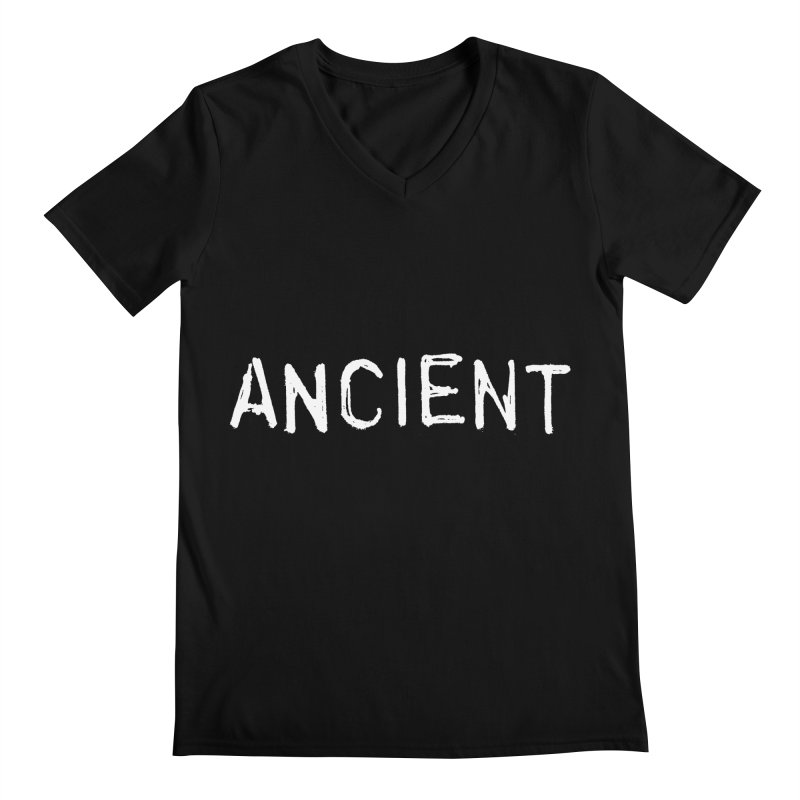 Ancient Champion Ancient Logo white Men's V-Neck by Dress like an Ancient Champion