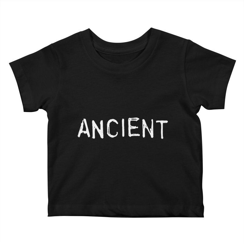 Ancient Champion Ancient Logo white Kids Baby T-Shirt by Dress like an Ancient Champion