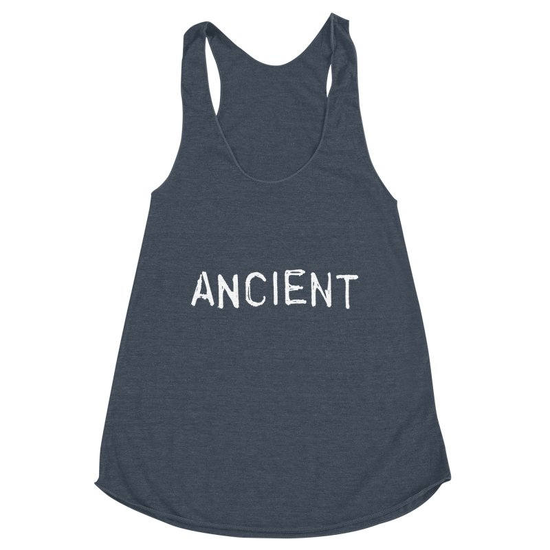 Ancient Champion Ancient Logo white Women's Tank by Dress like an Ancient Champion