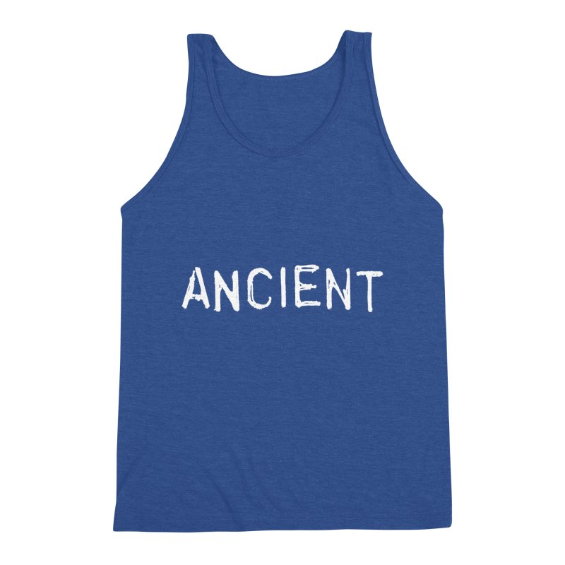 Ancient Champion Ancient Logo white Men's Tank by Dress like an Ancient Champion