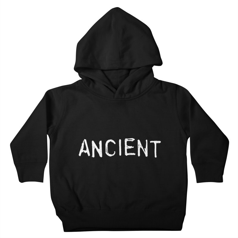 Ancient Champion Ancient Logo white Kids Toddler Pullover Hoody by Dress like an Ancient Champion