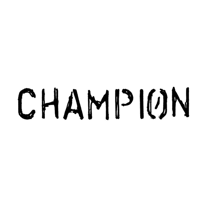 Ancient Champion Champion Logo Black Women's Longsleeve T-Shirt by Dress like an Ancient Champion