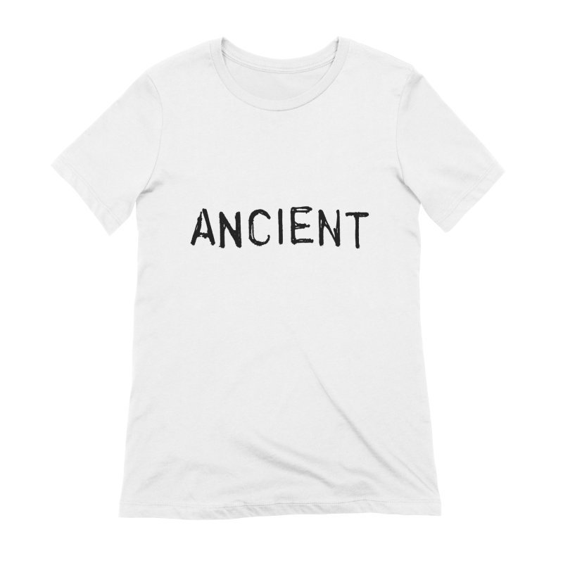 Ancient Champion Ancient Logo Black Women's T-Shirt by Dress like an Ancient Champion