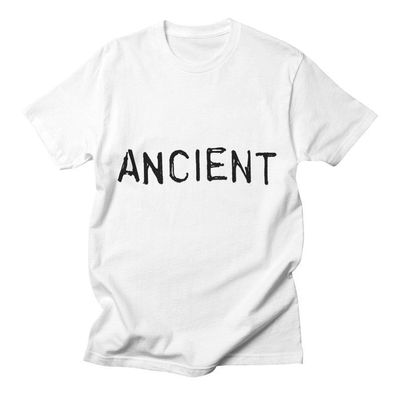 Ancient Champion Ancient Logo Black Men's T-Shirt by Dress like an Ancient Champion