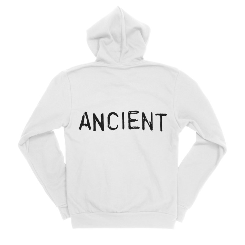 Ancient Champion Ancient Logo Black Men's Zip-Up Hoody by Dress like an Ancient Champion