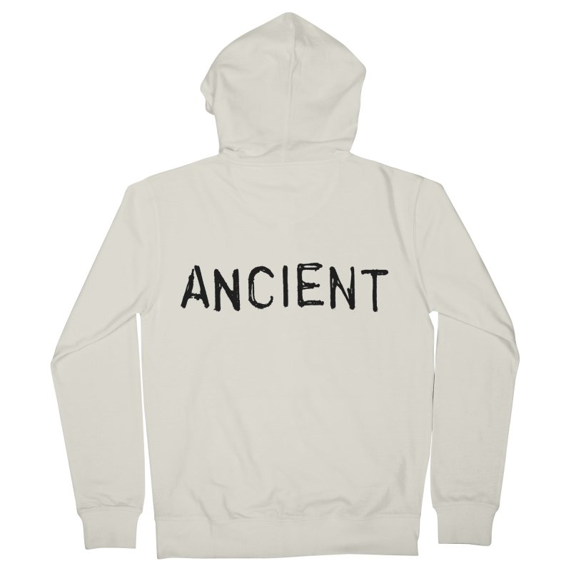 Ancient Champion Ancient Logo Black Women's Zip-Up Hoody by Dress like an Ancient Champion