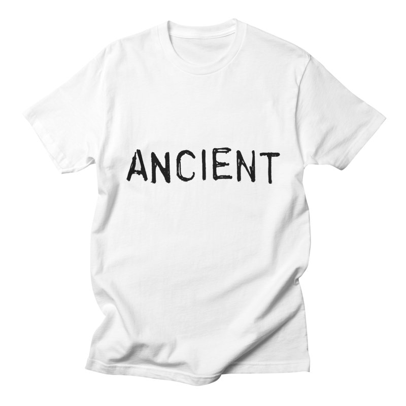 Ancient Champion Ancient Logo Black Men's T-Shirt by Dress like an Ancient Champion