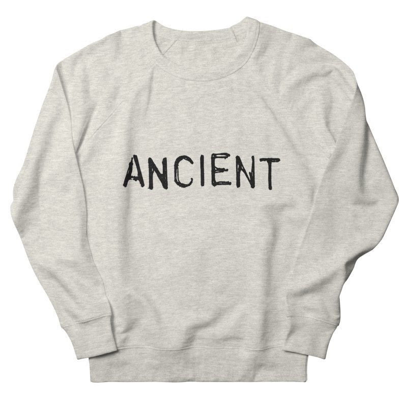 Ancient Champion Ancient Logo Black Women's Sweatshirt by Dress like an Ancient Champion