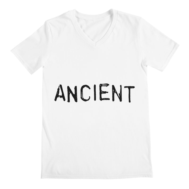 Ancient Champion Ancient Logo Black Men's V-Neck by Dress like an Ancient Champion