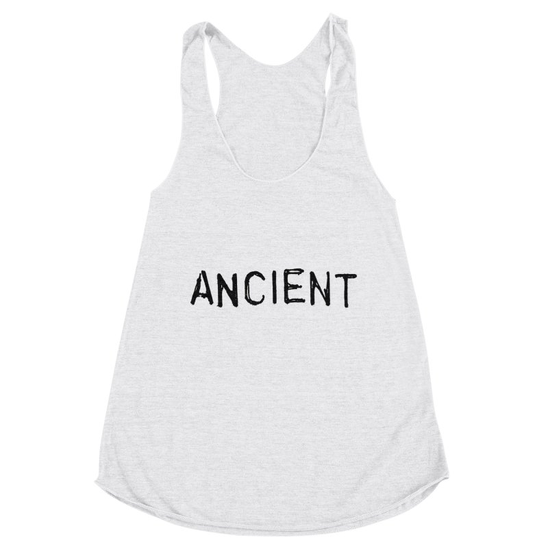 Ancient Champion Ancient Logo Black Women's Tank by Dress like an Ancient Champion