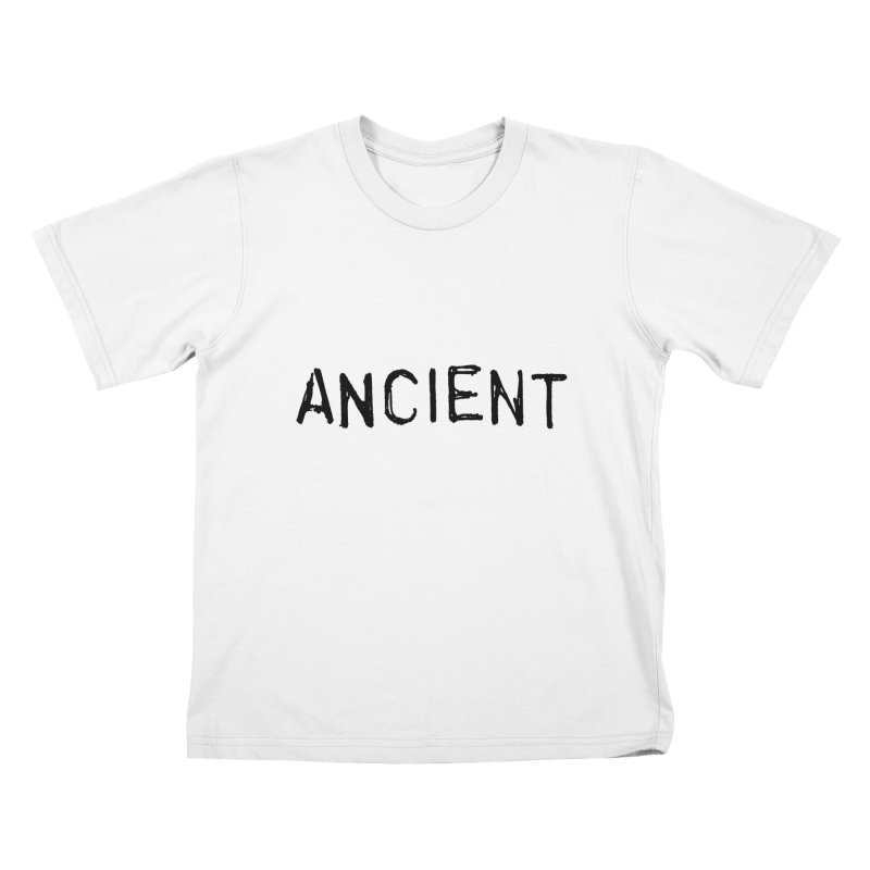 Ancient Champion Ancient Logo Black Kids T-Shirt by Dress like an Ancient Champion