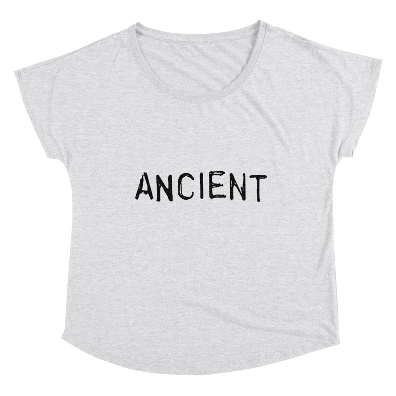 Ancient Champion Ancient Logo Black Women's Scoop Neck by Dress like an Ancient Champion