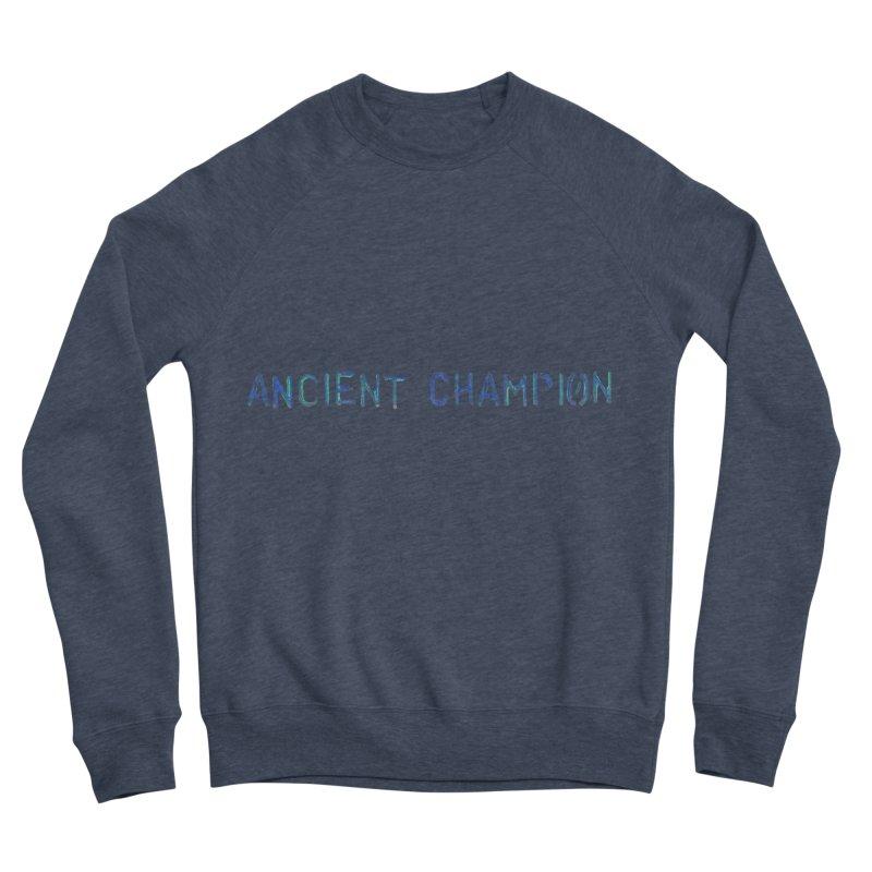 Ancient Champion Ancient Champion Logo Blue Women's Sweatshirt by Dress like an Ancient Champion