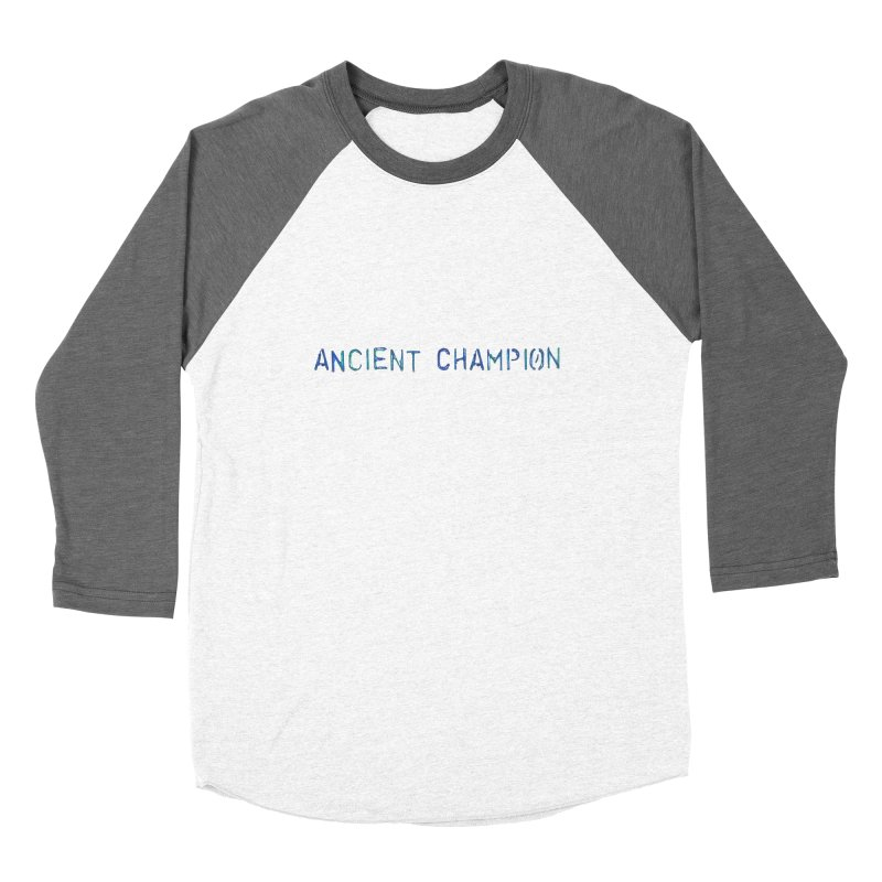 Ancient Champion Ancient Champion Logo Blue Women's Longsleeve T-Shirt by Dress like an Ancient Champion
