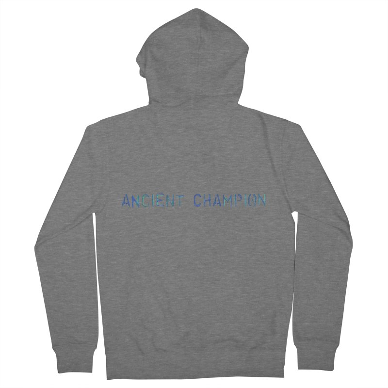 Ancient Champion Ancient Champion Logo Blue Men's Zip-Up Hoody by Dress like an Ancient Champion