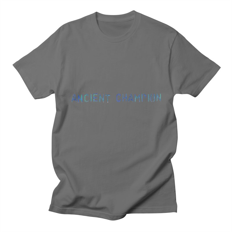Ancient Champion Ancient Champion Logo Blue Men's T-Shirt by Dress like an Ancient Champion