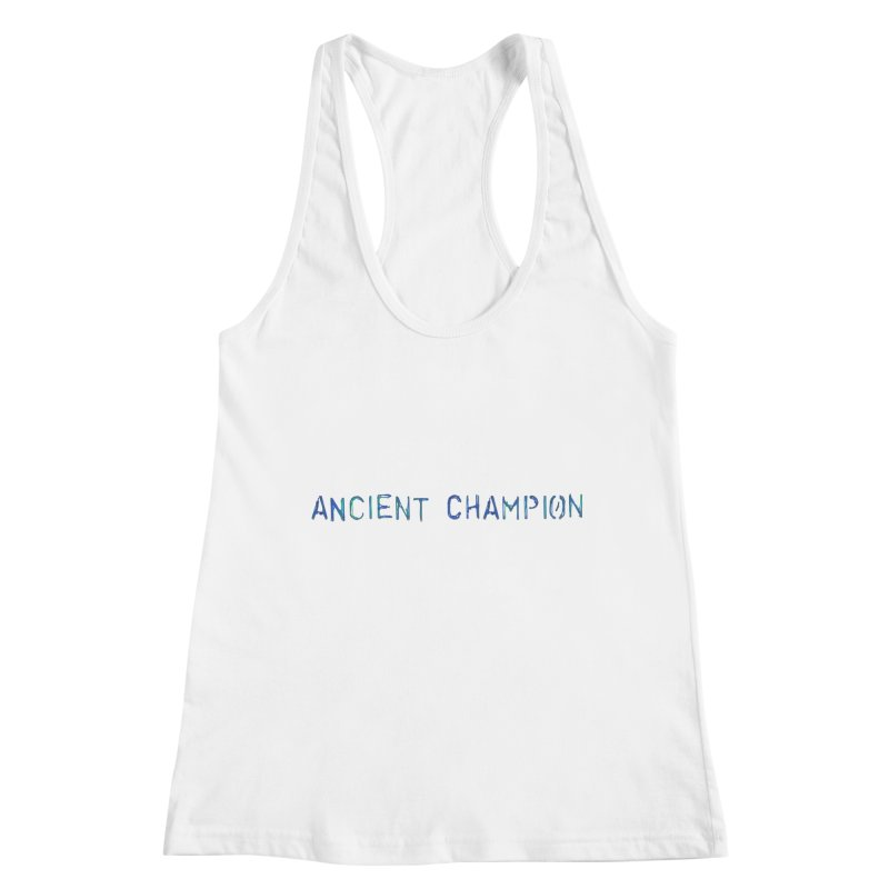 Ancient Champion Ancient Champion Logo Blue Women's Tank by Dress like an Ancient Champion