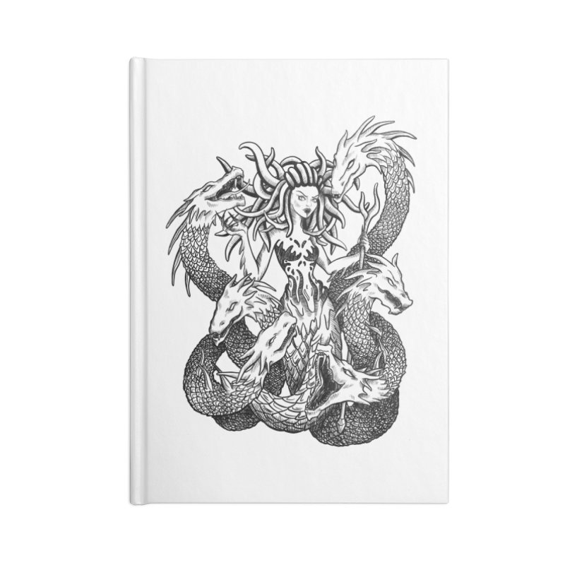 Scylla Accessories Lined Journal Notebook by Ancient History Encyclopedia