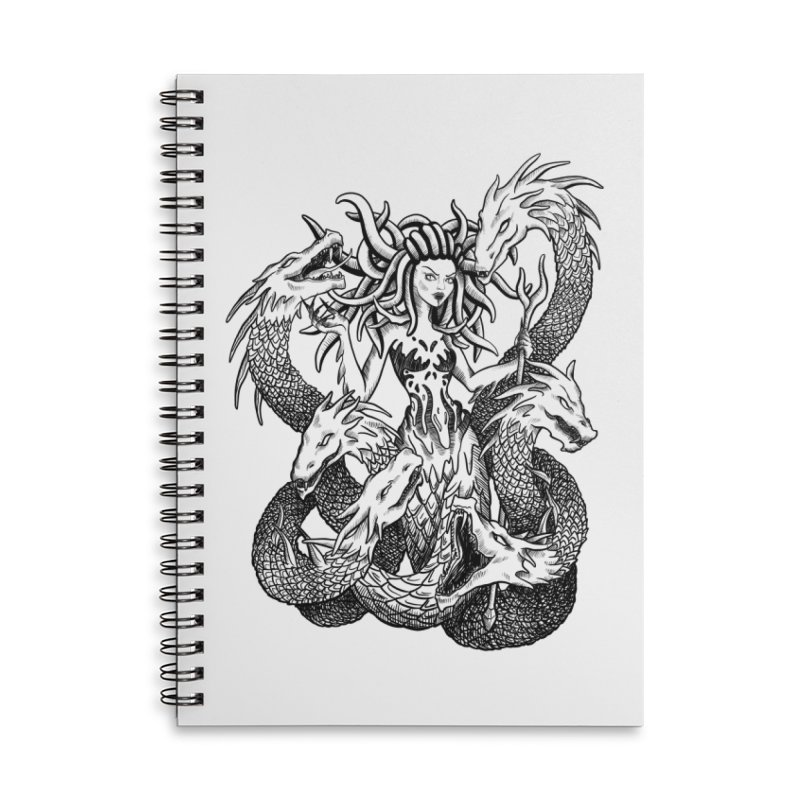 Scylla Accessories Lined Spiral Notebook by Ancient History Encyclopedia