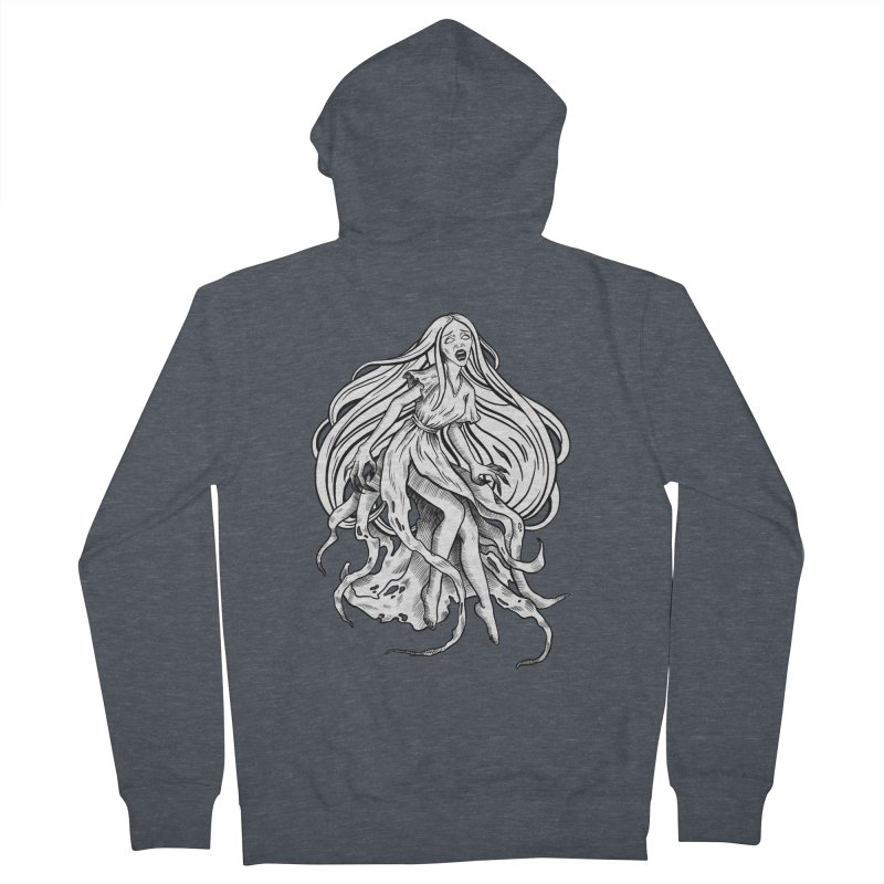 Banshee Women's French Terry Zip-Up Hoody by Ancient History Encyclopedia