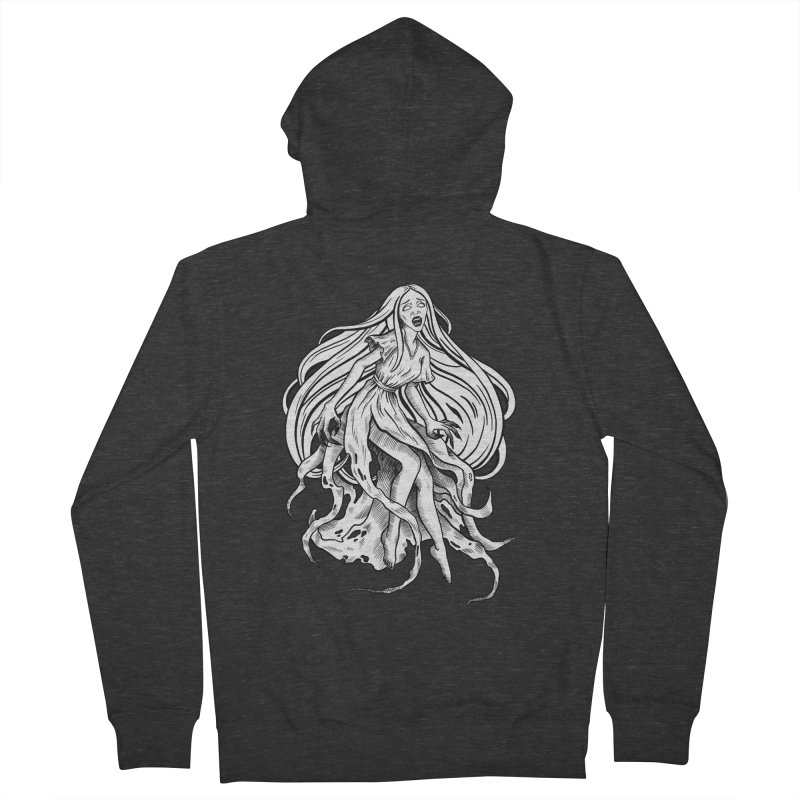 Banshee Men's French Terry Zip-Up Hoody by Ancient History Encyclopedia