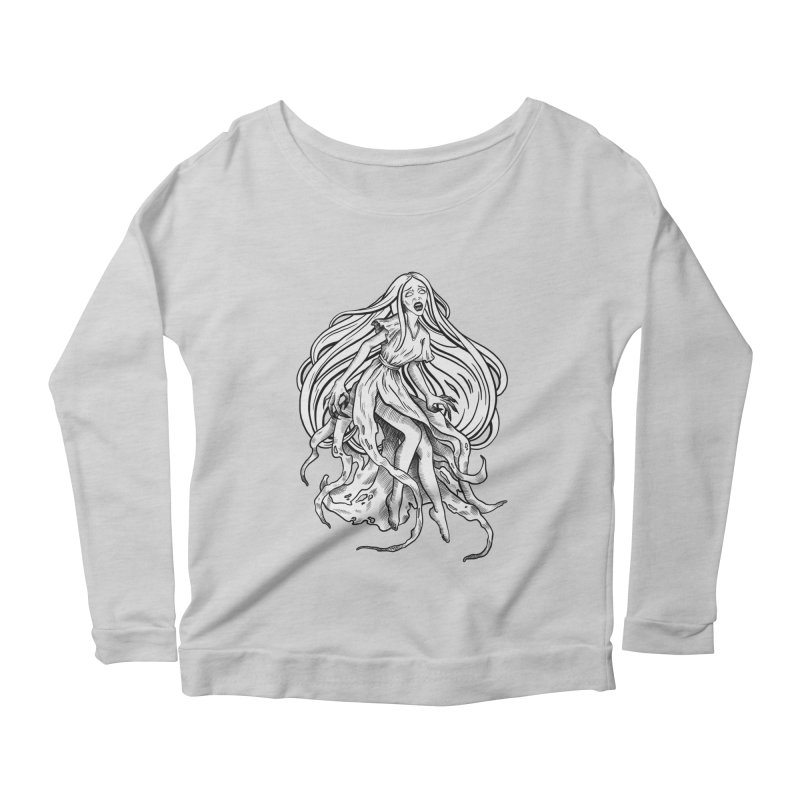 Banshee Women's Scoop Neck Longsleeve T-Shirt by Ancient History Encyclopedia