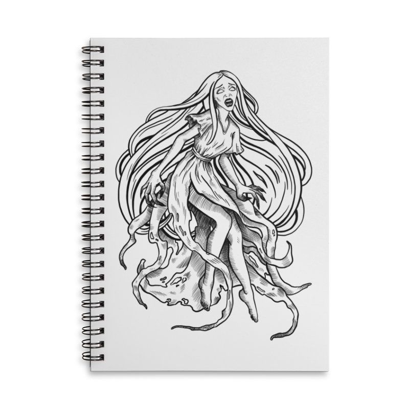 Banshee Accessories Lined Spiral Notebook by Ancient History Encyclopedia