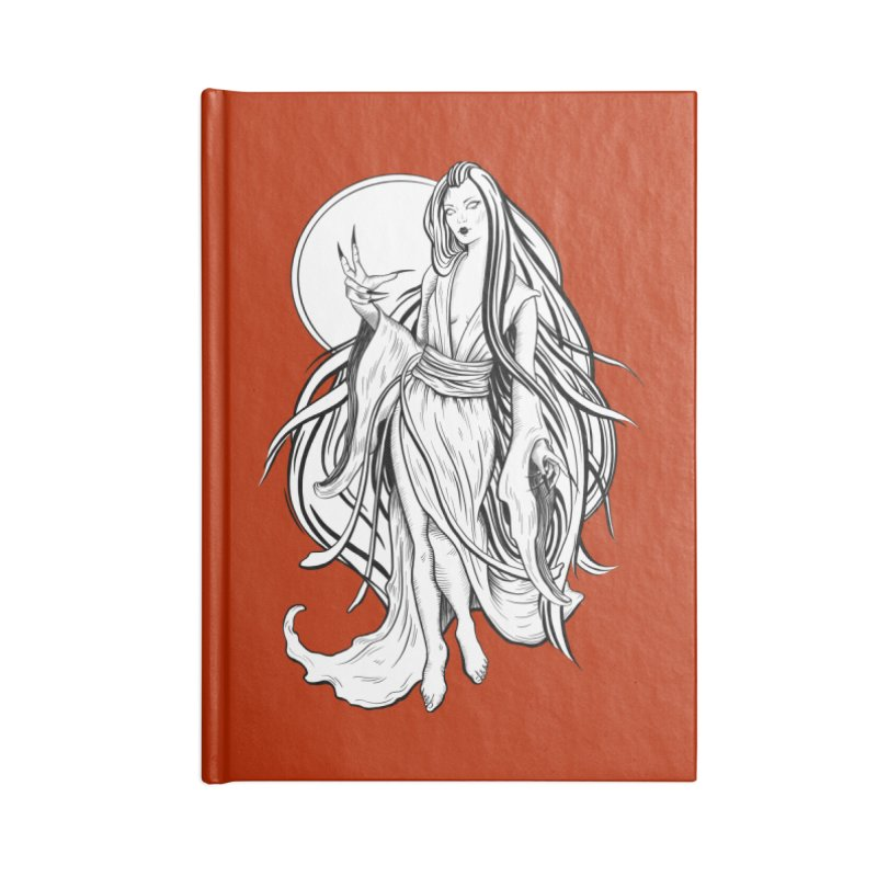Yuki-Onna Accessories Notebook by Ancient History Encyclopedia