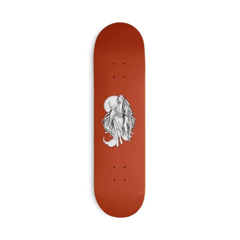 Yuki-Onna Accessories Skateboard by Ancient History Encyclopedia
