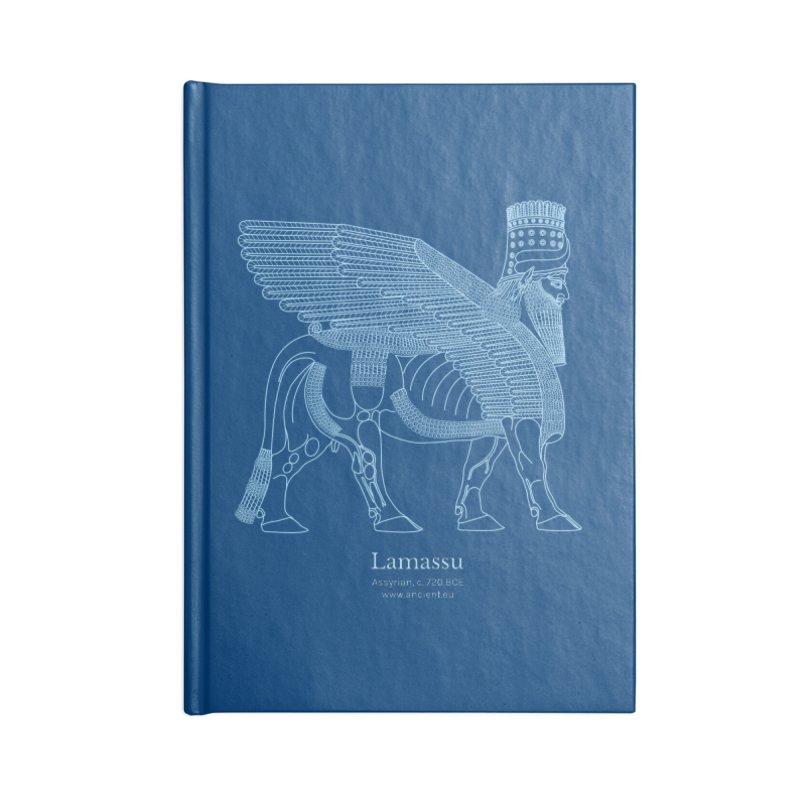 Lamassu (Dark Cerulean) Accessories Notebook by Ancient History Encyclopedia