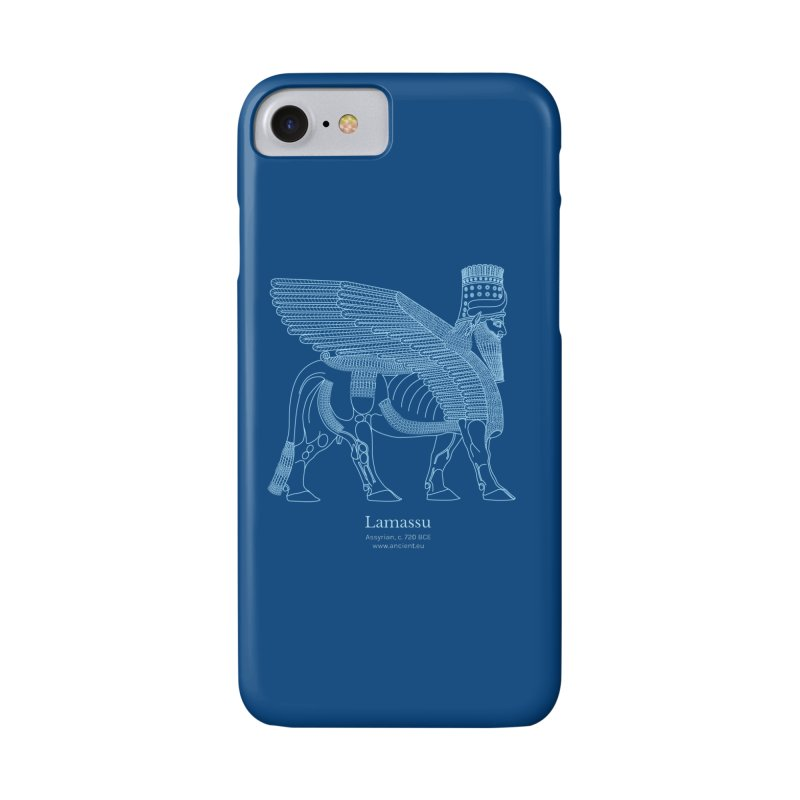 Lamassu (Dark Cerulean) Accessories Phone Case by Ancient History Encyclopedia