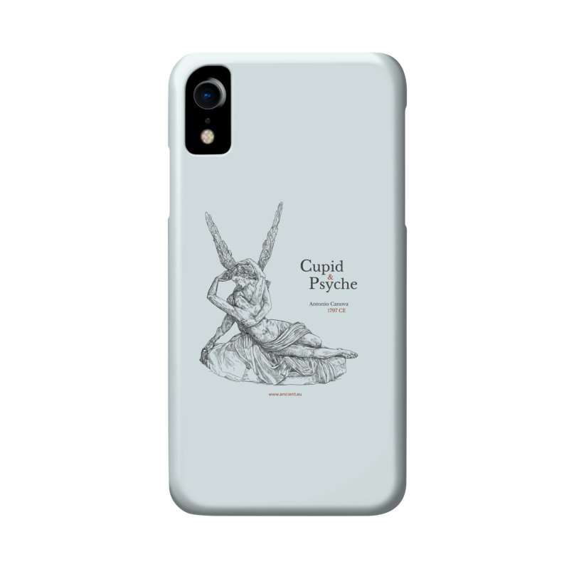Cupid and Psyche (Celtic Blue) Accessories Phone Case by Ancient History Encyclopedia