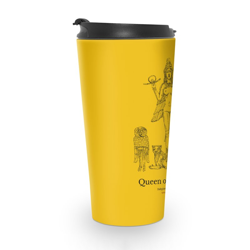 Queen of the Night (Blazing Star Yellow) Accessories Travel Mug by Ancient History Encyclopedia