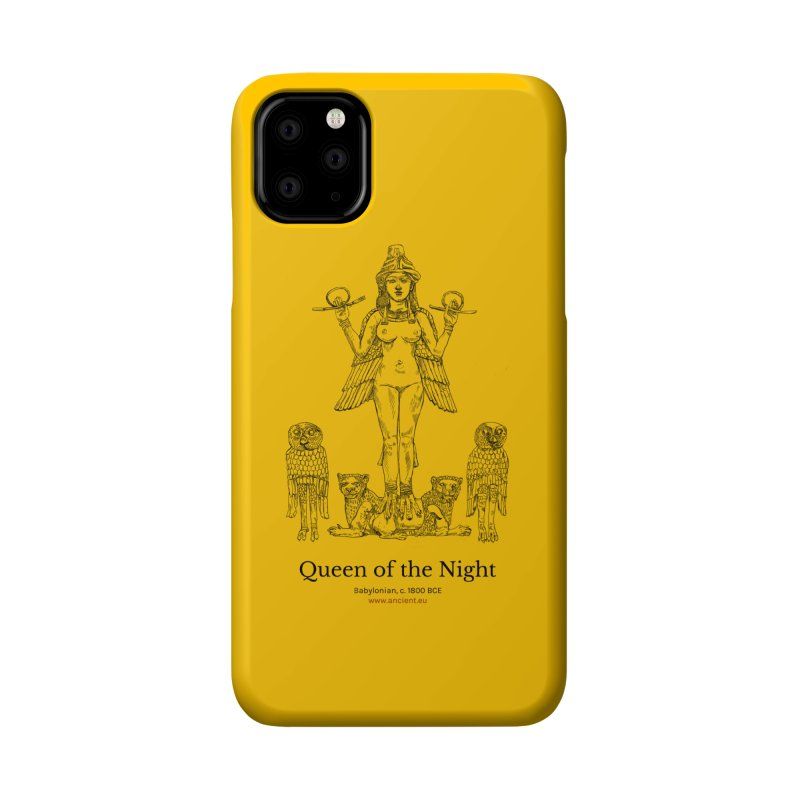 Queen of the Night (Blazing Star Yellow) Accessories Phone Case by Ancient History Encyclopedia